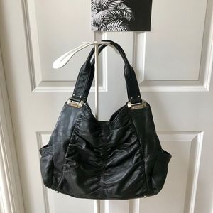 ♥️🌻B.Makowsky Black Leather Bag!
